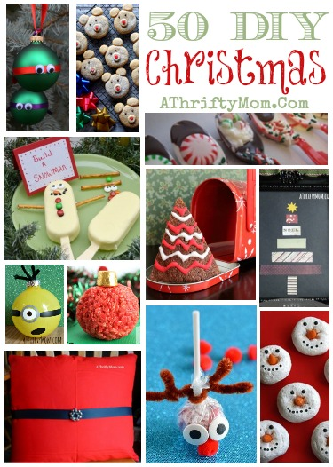 50 diy christmas ideas recipes crafts and more holidays christmas diy a thrifty mom recipes crafts diy and more