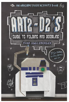 Art2-D2's Guide to Folding and Doodling - Star Wars Activity Book #GiftForKids #StarWars #StockingStuffer