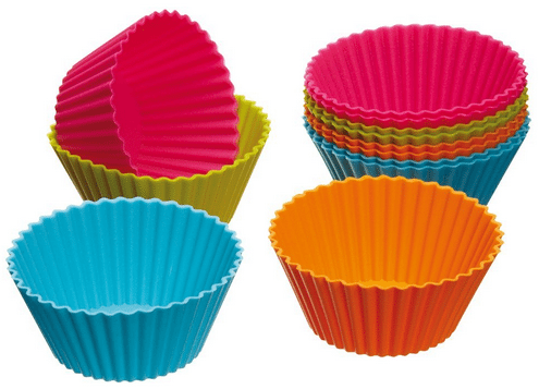 Kitchen Craft Silicone Reusable Cupcake Cases 12 pk only $3.60! #Baking #BentoIdeas