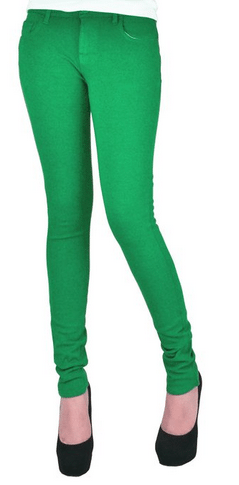 Women's Skinny Colorful Jeggings Stretchy Sexy Pants Only $9.99 - Lots of colors to choose from!