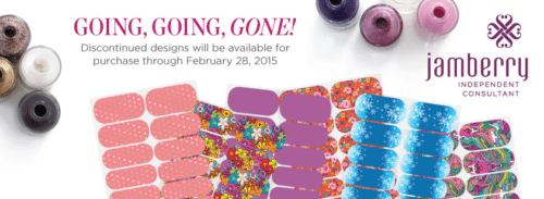 Nail Art, Jamberry discontinued list for 2015