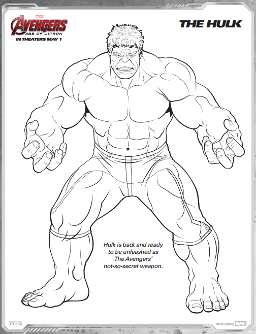 Avengers Age Of Ultron Free Printable Coloring Pages A Thrifty Mom