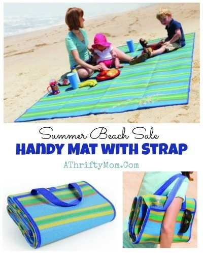 Handy Mat with Strap, Beach Bag that turns into a mat, perfect for beach picnics or laying out to get some sun, summer sale