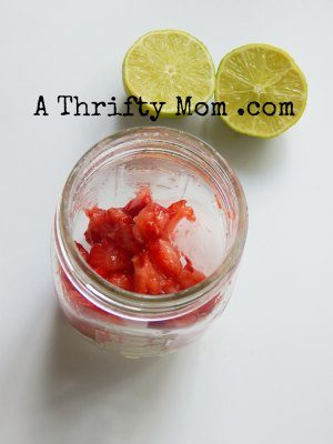virgin strawberry limeade