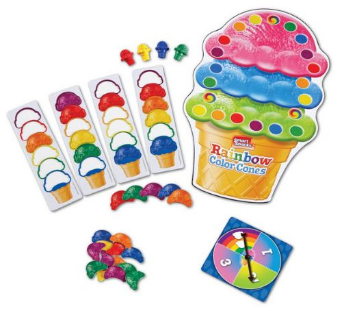 ice cream learning game, great toddler and preschool game, fun games for kids. gift idea. thrifty gift idea. fun for kids