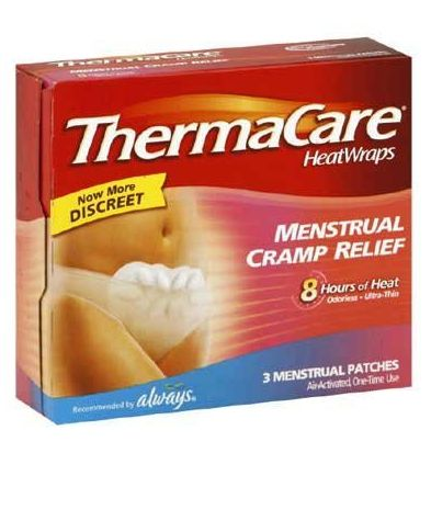 therma care menstrual pain relief, menstrual pain, periods, period pain, period relief, amazon deals