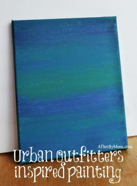 Urban outfitters inspired painting, peacock, painting, jewel tones, urban outfitters, color, thrifty home decor
