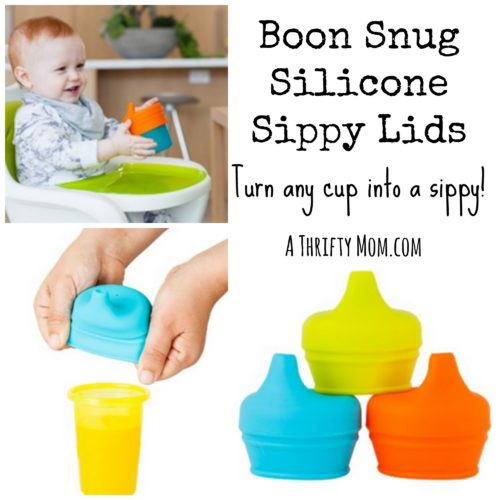 Boon Snug Silicone Sippy Lids