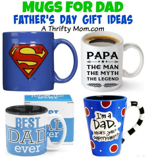 Mugs for Dad - Father's Day Gift Ideas