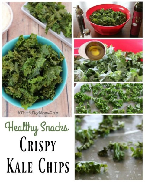 Healthy Snack Ideas, kale chips a recipe so easy you kids could  make them, low cost but healthy