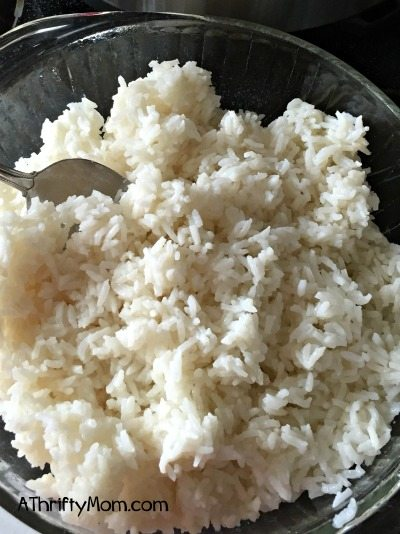 white rice in the pressure cooker, perfect every time, elecric pressure cooker, instant pot, rice, tips and tricks, kitchen hacks