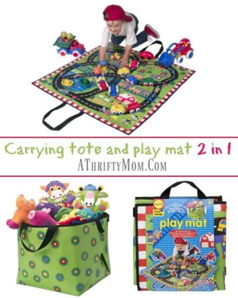 carrying-tote-and-play-mat-2-in-1-boys-gift-ideas-fold-out-play-mat-for-cars-and-trucks-amazon-deals