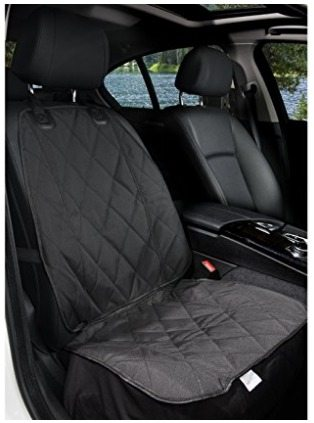 Front seat cover for pets