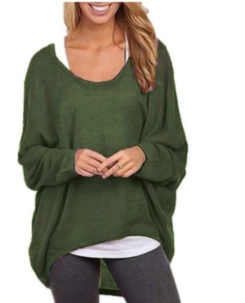 Loose womens casual sweater