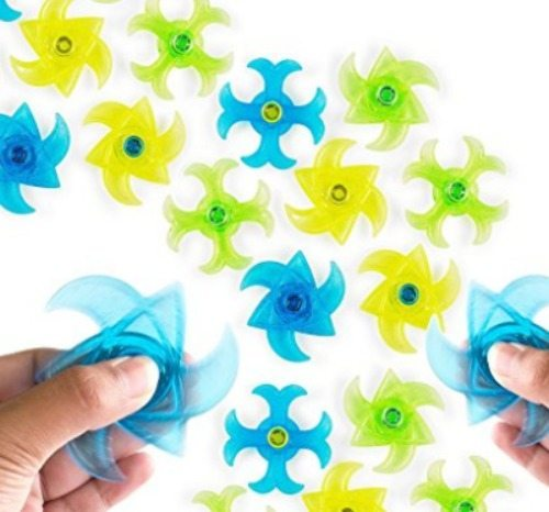 Fidget spinner party favors