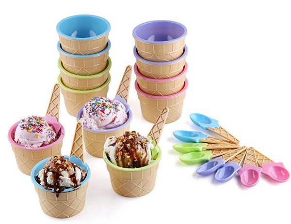 Ice Cream Bowl Set