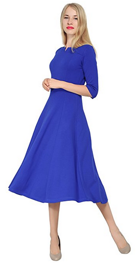 Tea Length Midi Dresses