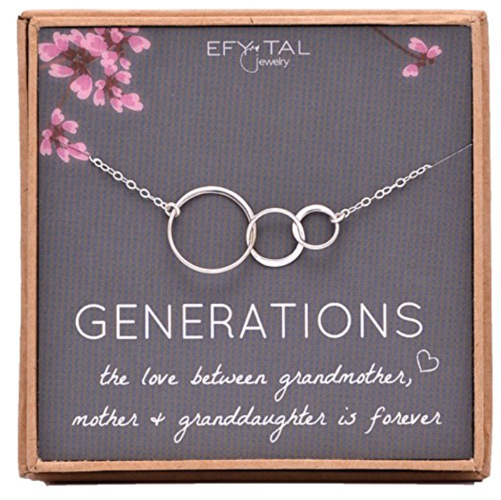 Sterling Silver Mothers Day Necklaces