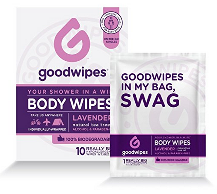 Women's Deodorizing Body Wipes
