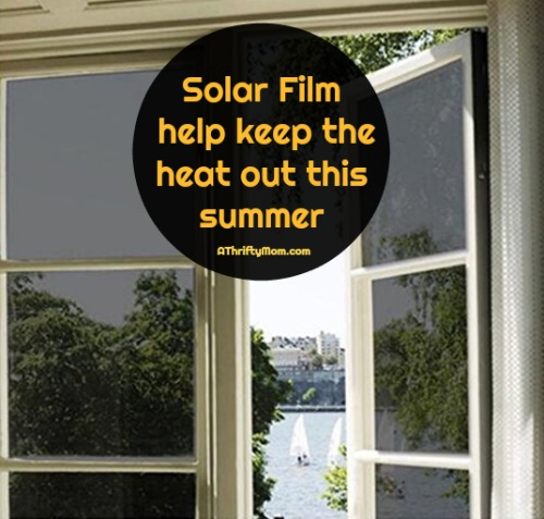 Solar film for windows
