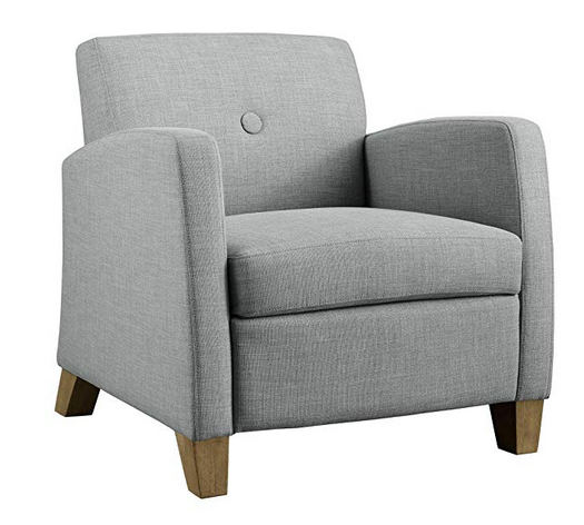 Dove Gray Accent Chair