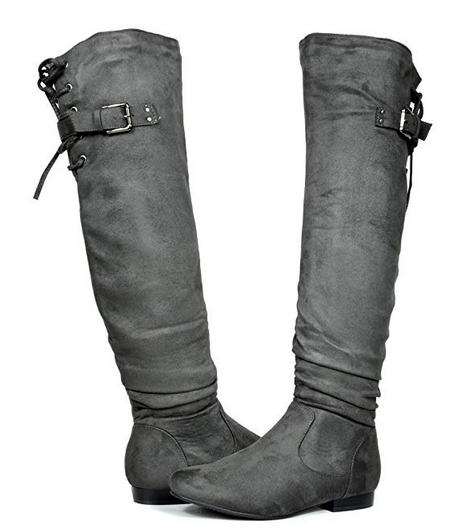 Over The Knee Pull On Slouchy Boots