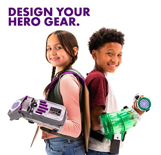 Build your own superhero gear