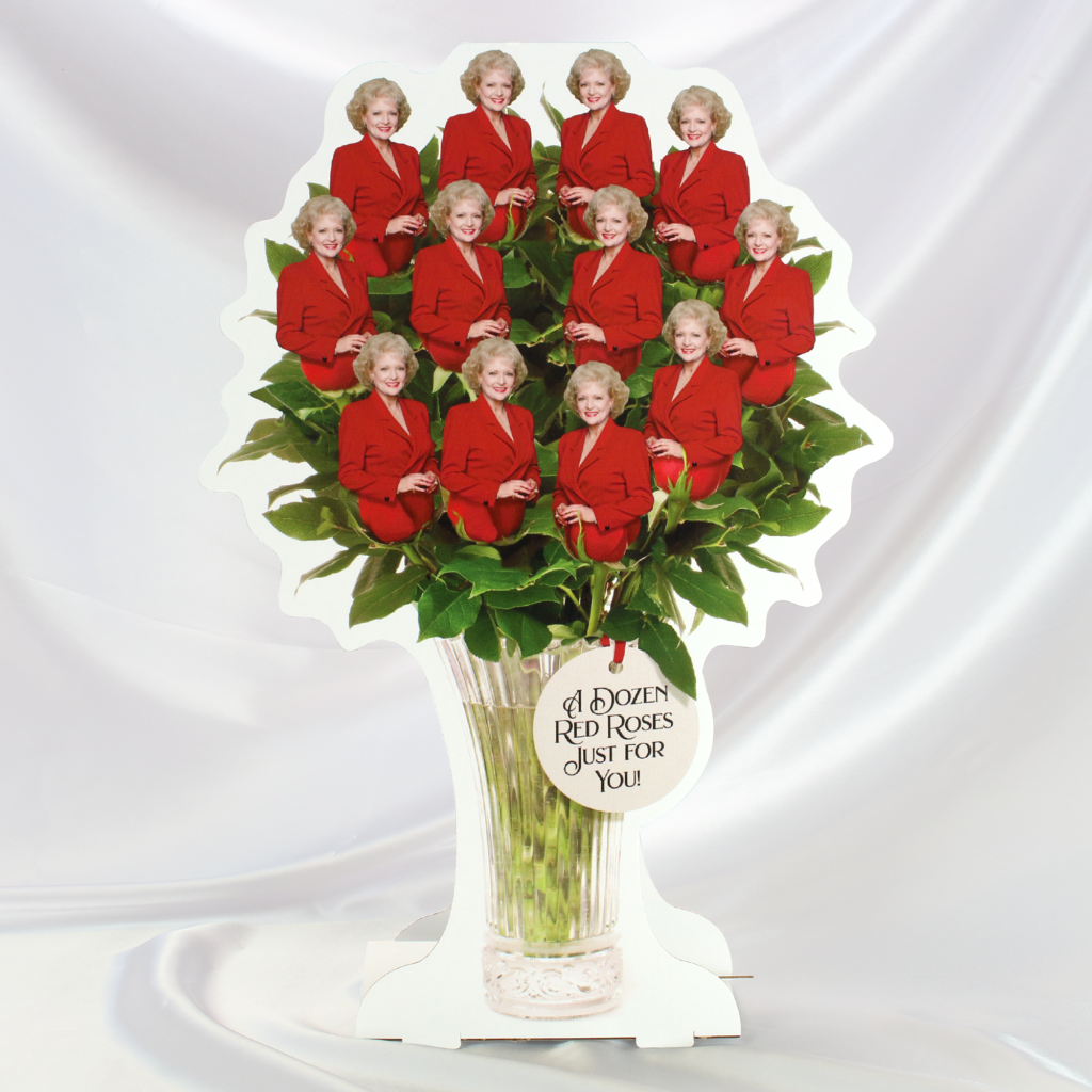 Give mom a dozen red roses for Mother's day