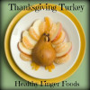 Thanksgiving Turkey out of fruit ~ Healthy Finger Foods and recipes