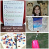 DIY ~ Firework craft and hack, Bust Boredom, I Lived craft and paper puppets