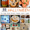Over 55 Easy Ideas for Halloween ~ DIY, Food, Decor, Desserts, Snacks, Crafts & Games
