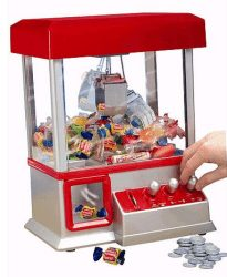 electronic claw game reward for good behavior