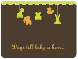 days till baby is here