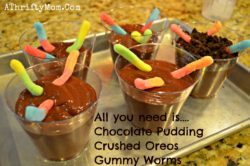 dirt and worms kids recipe 1