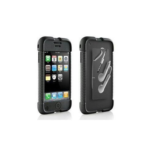 iPhone Case with ear phone wrap
