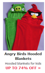 angry birds blankets