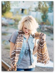 Beige Aztec scarf ~ Cents of Style