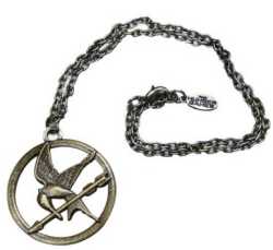 The Hunger Games Movie Necklace Single Chain Mocking Jay