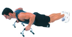 excercise push up bars