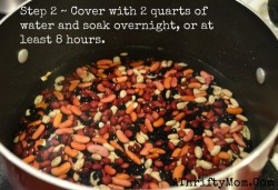 How to make homemade chili with dry beans, Hurst's HamBeens