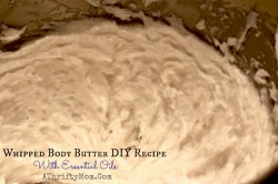 Whipped Body Butter DIY recipe with Essential Oils, Makes a wonderful gift or just to pamper yourself, #GiftIdea, #DIY, #EssentialOils, #Oils, #MothersDay