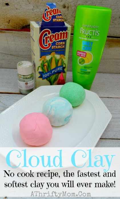Cloud Clay Softest Clay Ever Only 2 Ingredients No Cook Recipe