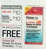 Florax free after RR at Walgreens starting 6-15
