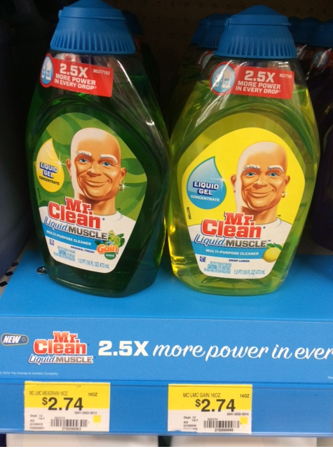 graphic regarding Mr Clean Coupons Printable called Mr. Fresh Liquid Muscle mass Simply just $2.24 At Walmart With Printable