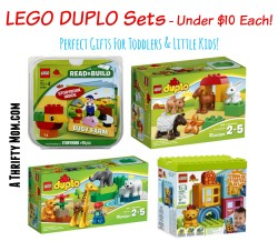 LEGO DUPLO Building Sets Under $10 Each – Perfect Gifts for Toddlers and Little Kids #ChristmasGiftIdea