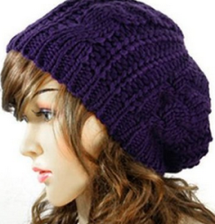 Slouchy hat for women, would make a great gift idea for a tween, teen or Momma, Fashion Deals