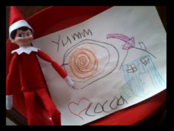Elf on the Shelf easy ideas, What to do with your Elf, Silly Ideas for your Christmas Elf on the Shelf day 4