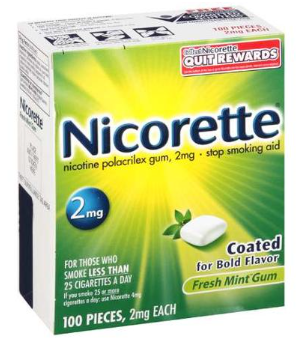 photo relating to Nicorette Printable Coupon called Nicorette Gum 100 Depend Basically $23.98 At Walmart ~ Superior Great importance