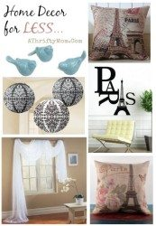 Home Deor ideas, Paris theme, clean lines with shabby chic, easy way to restyle any room in your house
