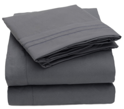 1500 Thread Count 4pc Bed Sheet Set Egyptian Quality Deep Pockets ~ Available in 12 colors – Treat yourself to new sheets!